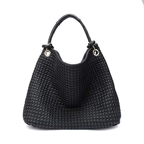 Woven Leather Handbags - 8