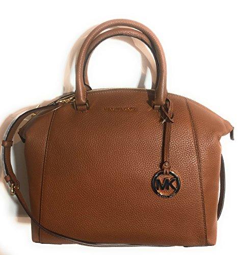 Riley Satchel - Michael Kors Large Riley Leather Satchel Bag Luggage (35S8GRLS3L)