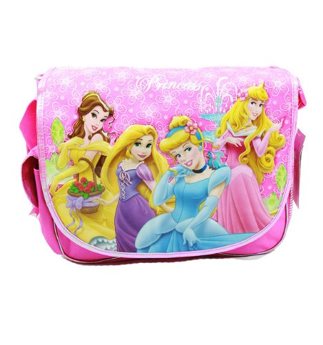 Disney Princess Messenger Bag / Shoulder Bag - Tangled Rapunzel / Bell