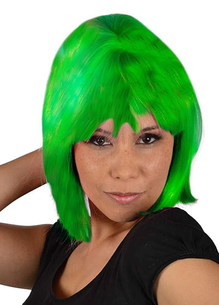 My Costume Wigs Disgust Wig Inspired By Disney's Inside Out One Size Fits All DisgustWig