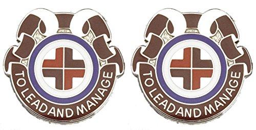 330th MED BDE Distinctive Unit Insignia - Pair ()