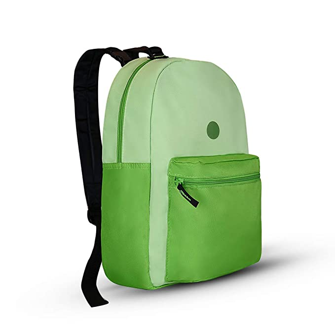 0daeb372ee7d Kids Backpack - Cute Reversible Backpack for Kids Casual School Backpack  College Backpack - Orange Dog/Green School Bookbag