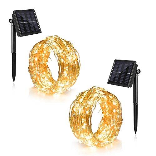Led Rope Light Ip44 Solar Powered - 8