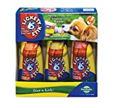 PetSafe Lickety Stik Low-Calorie Liquid Dog Treat, 3-Pack Chicken/Bacon/Peanut Butter