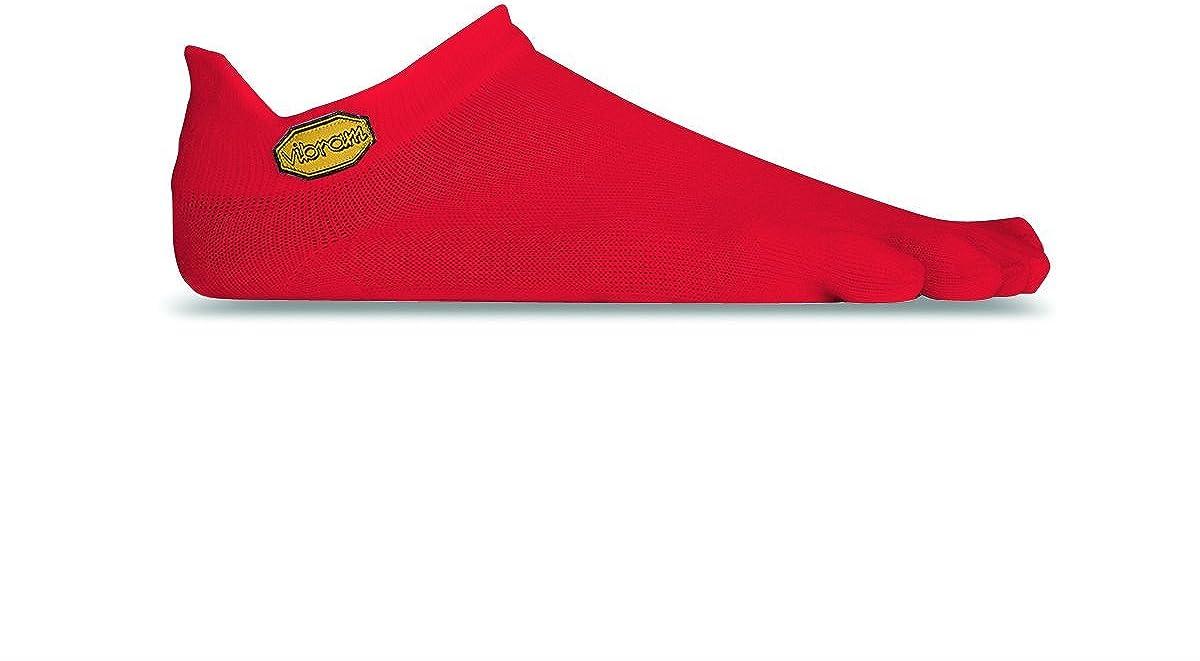 Color Rojo tama/ño Large /Calcetines Hombre Vibram FiveFingers Hombre Athletic No Show/