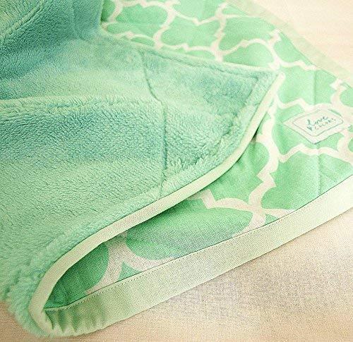 Babydecke Bettdecke Grün Minze Decke Für Kinderwagen