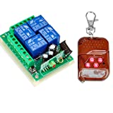 Hot ! Thunbird New 12v 4 Channel Wireless Remote Control Receiver Momentary Switch