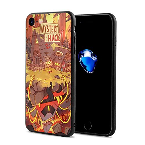 Gravity Falls - Weirdmageddon Anti-Scratch Shock Rubber Silicone Rugged Thin Cover Phone Case for iPhone 7/iPhone 8