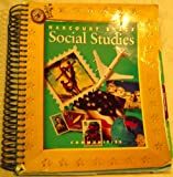 Social Studies, Grade 3, Harcourt School Publishers Staff, 0153121068