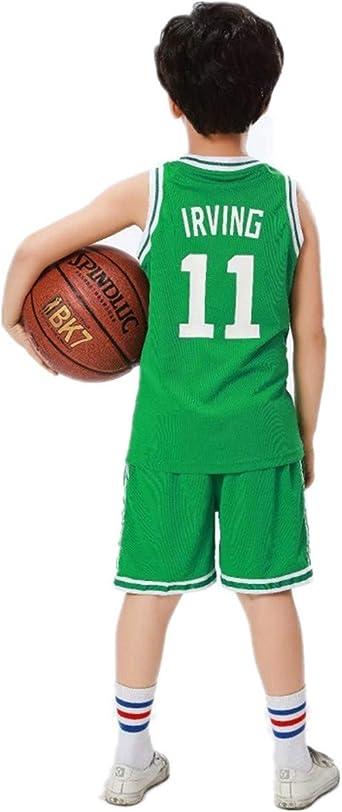 Imagen deLebron James #23 Camiseta de Baloncesto para Hombres Lakers, para niños Adultos y Adolescentes Top sin Mangas + Shorts