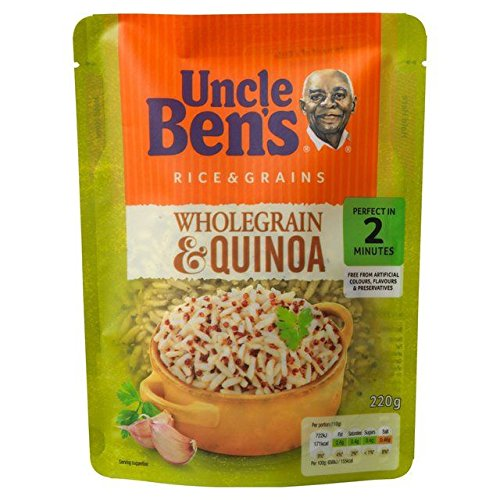 Uncle Bens Wholegrain & Quinoa Rice - 220g (Uncle Sa)