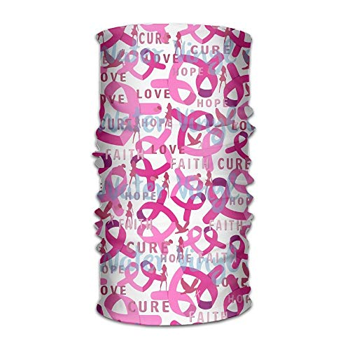Breast Cancer Awareness Changed Headscarf Bandanas Face Masks Protect You from Sun, Wind and Dust for Men&Women