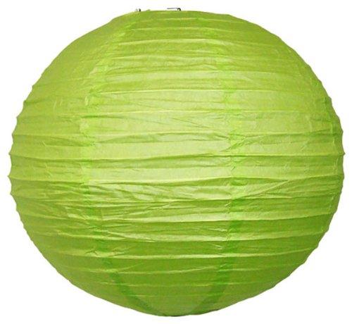 Just-Artifacts-24-Light-Green-ChineseJapanese-Paper-LanternLamp-24-Diameter-Just-Artifacts-Brand