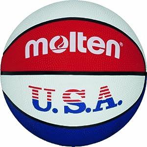 Molten Basketball BC5R-USA, BLAU/WEISS/ROT, 5