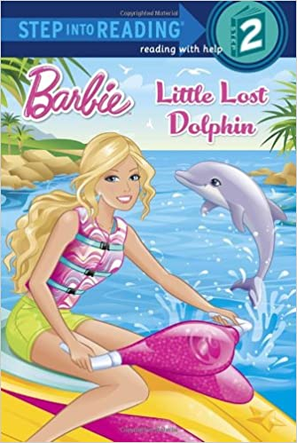 Amazon Little Lost Dolphin Barbie Step Into Reading 9780385373043 Random House Jiyoung An Books
