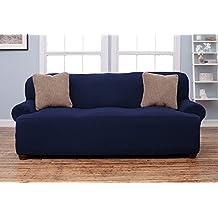 Amazon navy blue sofa covers