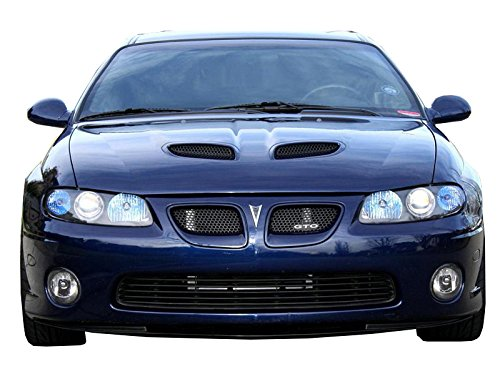 KBD Body Kits Compatible with Pontiac GTO 2004-2006 SAP Style 2 Piece Flexfit Polyurethane Grill Inserts. Extremely Durable, Easy Installation, Guaranteed Fitment, Made in the USA!