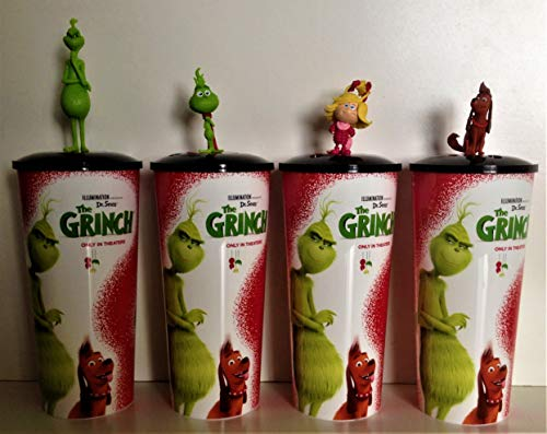 grinch movie cups