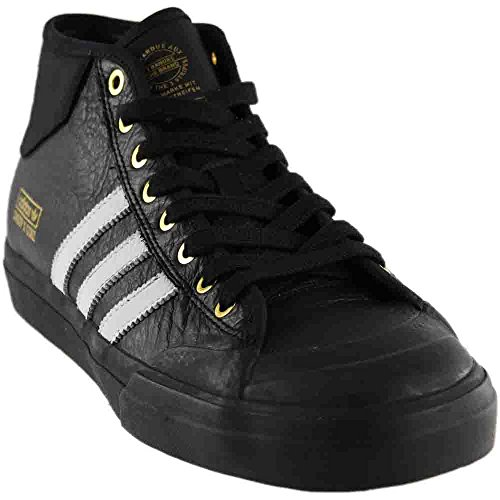 adidas Men Matchcourt Mid X Snoop X Skateboarding Core Black / Metallic Gold
