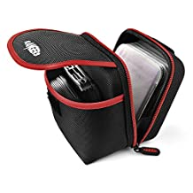 Rangers Professional Lens Filter Pouch with 12 Filter Protective Sleeves and Carabiner for Round or Square Filters (Black) RA108