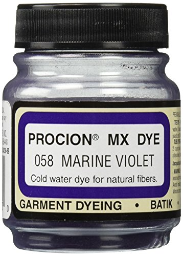 Violet Jacquard Fabric (Deco Art Jacquard Procion Mx Dye, 2/3-Ounce, Marine Violet)