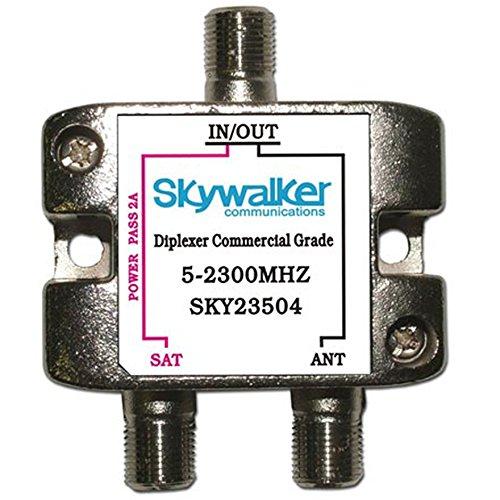 Commercial Grade Coax Diplexer, 5-2300MHz