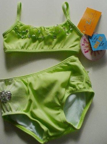 Azul Baby Girl Vogue Swimwear Green Sequin One Piece Bathing Suit 12 Months