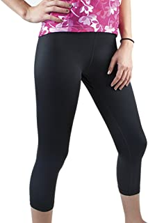 product image for AERO|TECH|DESIGNS Plus Women's Spandex Exercise Capri - Available Padded or Unpadded