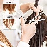 10 PCS Professional Hair Cutting Scissors 6.7inch