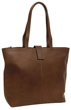 18f28c70a0b7c Gusti Handtasche Leder Studio Alexandra Shopper Ledertasche Braun ...