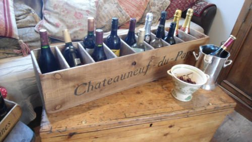 The Old Country Farmhouse Wine Case/Rack/Stand/Display/Bo...