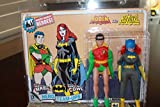 batgirl cowl mask - Worlds Greatest Heroes Series 2 Robin and Batgirl 2pk Limited to 100pc