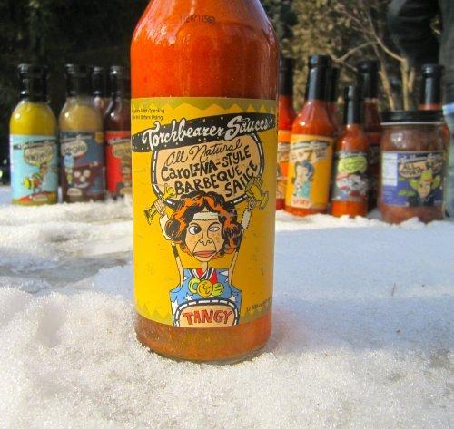 Torchbearer All Natural Carolina-Style BBQ Sauce, 12 Oz
