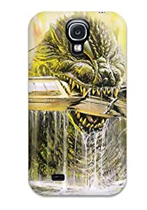 Hot Design Premium AwhIvrd3729eOgZa Tpu Case Cover Galaxy S4 Protection Case(godzilla)