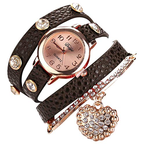 Bracelet Watches for Women,LYN Star❀ Fashion Analog Quartz Bangle Cuff Bracelet Wrist Watch, Unique Elegant Watch Band