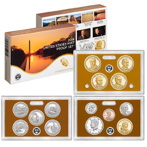 Coin Collection Proof (2014 S US Mint Proof Set OGP)