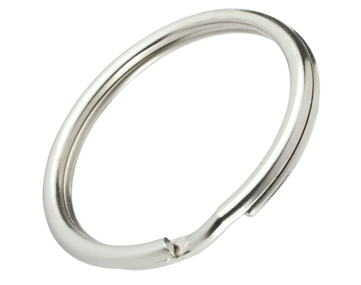 Bulk 5000 Pack - 1'' Key Rings - Heat Treated & Lead Free - Premium Split Ring Keychains by Specialist ID