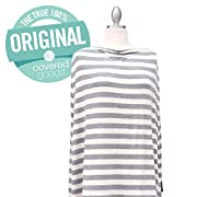 Covered Goods Multi-use Nursing Cover - Classic Grey and Ivory Stripe