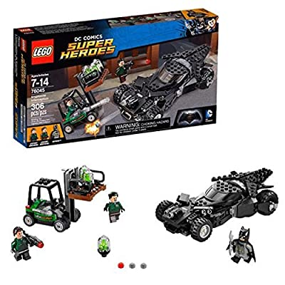 Interception of Lego Super Heroes 2016 Kryptonite 76045: Toys & Games