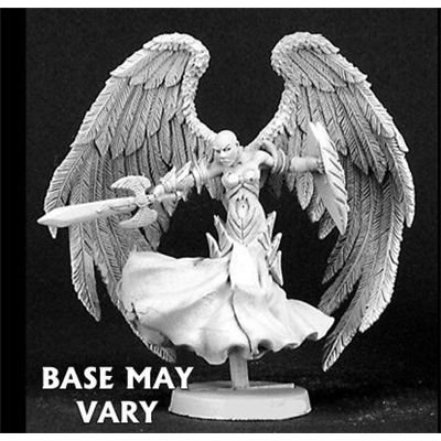 Reaper Deva Female Angel Miniature: Toys & Games