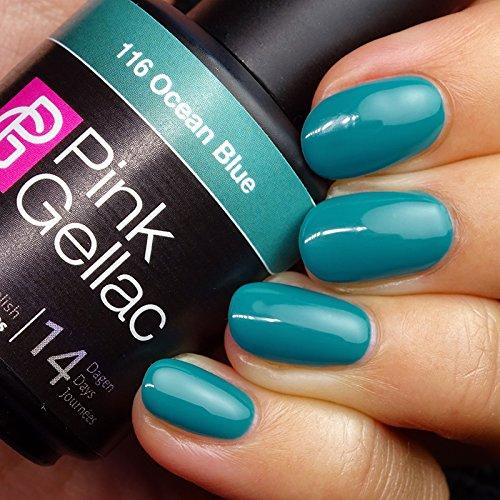 Pink Gellac #116 Ocean Blue Soak-Off UV / LED Gel Polish