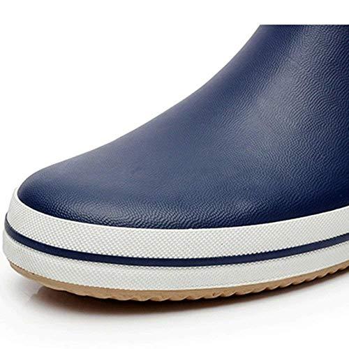 Primavera Esterni cn38 Stivali Dimensione Ventilazione Tubo colore Eu38 uk5 5 Blu Pioggia Ed E Acqua Donna Blu Pesca Estate Moda Uomo Boots Scarpe Da In Cqgg6w