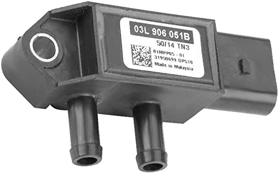 Replaces OE# 03L906051B 81MPP05-01 yh DPF Diesel Particulate Filter Differential Pressure Sensor