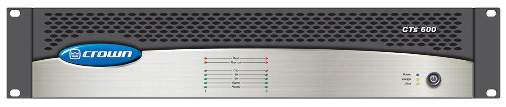 Crown CTS600USP4CN CTs Series Professional 600W Install Amplifier with DSP