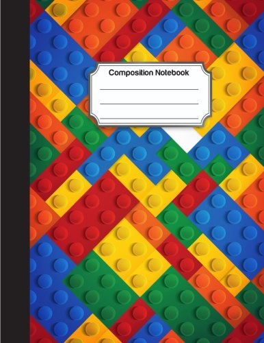 Composition Notebook: Block Toy Color Pattern Background Cover : College Ruled School Notebooks, Composition Notebook, Subject Daily Journal Notebook : 120 Lined Pages (Large, 8.5 x 11 in.) PDF