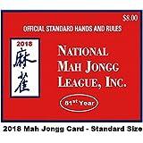 National Mah Jongg League Standard Size Scorecard 2018