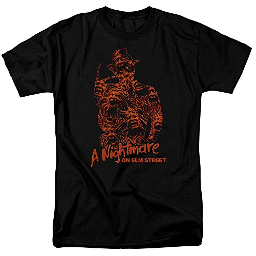 Nightmare Elm On Street Homme T Black Coffre shirt Âmes r5wrdqE