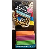GOODY - Ouchless No Metal Elastics Candy Coated - 30 Pack
