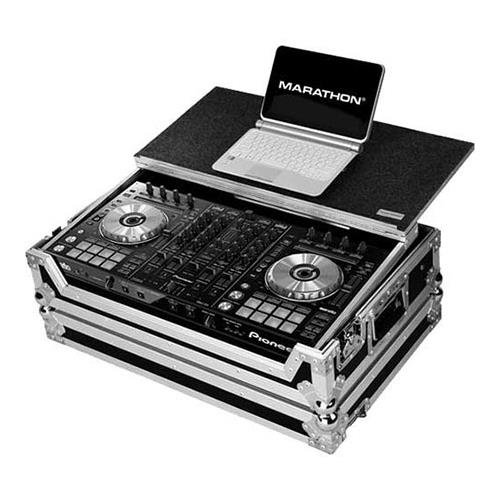 Marathon Flight Road Case MA-DDJSXLT for 1 X Pioneer DDJ SX Serato Dj Music Controller with Laptop Shelf