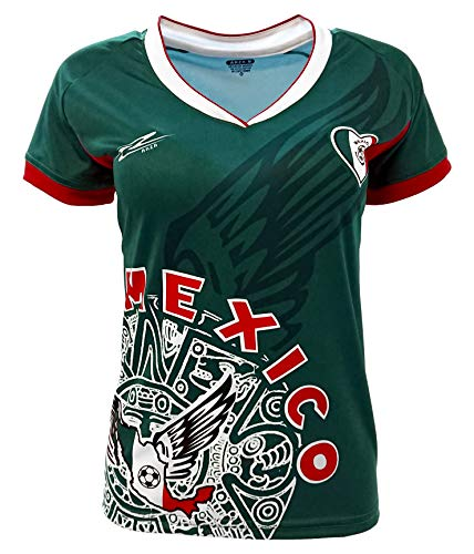 1d30d48bd Arza Sports Mexico Womens Soccer Jersey Exclusive Desin (Small